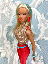 "Load image into Gallery viewer, ""Glitz & Glam Magic"" OOAK Doll"