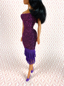 Shimmy Shimmers in Purple  - Outfit
