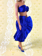 Load image into Gallery viewer, Fabiola Flounce in Cobalt - Outfit