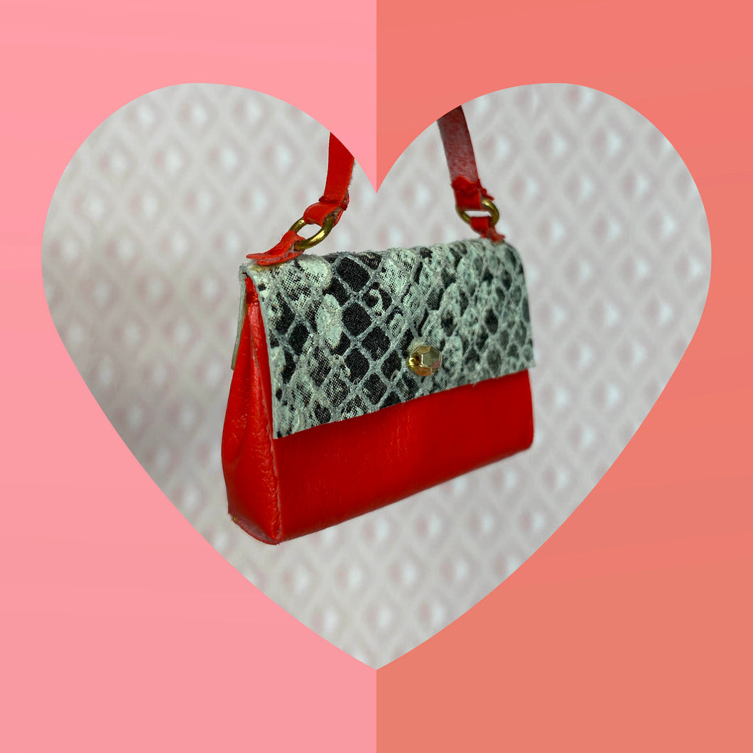 Python and Red Satchel