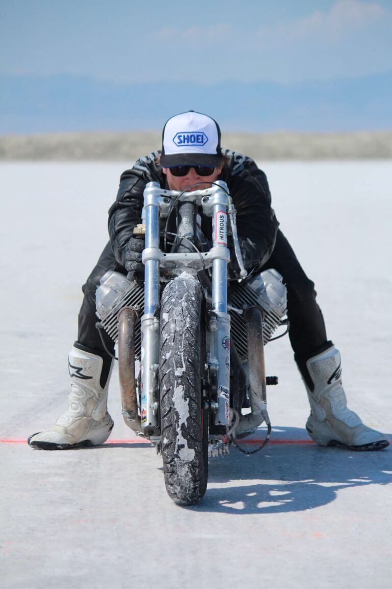 Ready to break the speed record in Bonneville