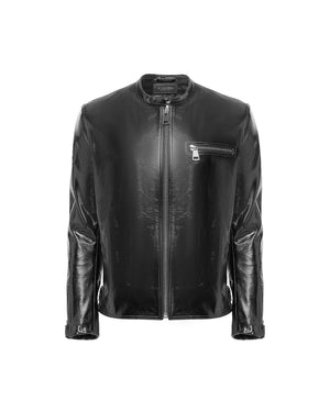 Patent Leather Biker Jacket Man