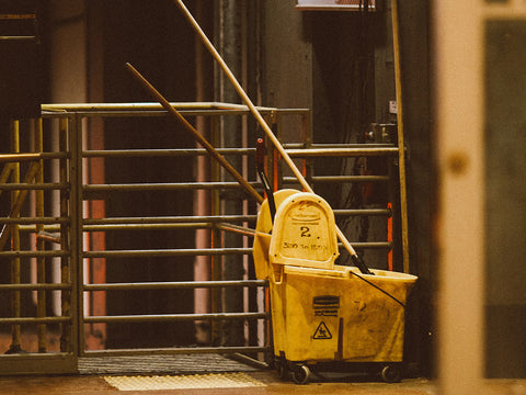 An image of janitorial supplies.