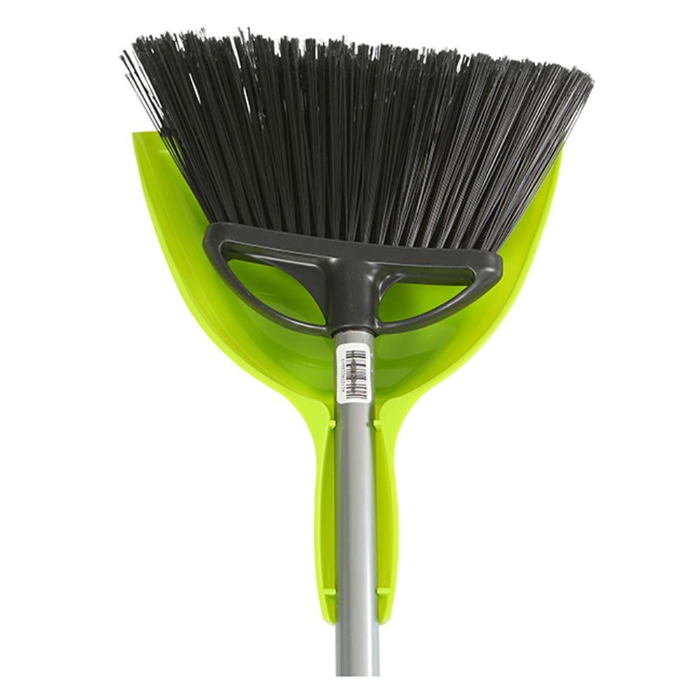 "10"" Angle Broom with 9"" E-Z Clean Dustpan - Combo"