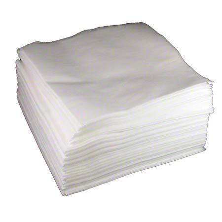 "12"" X 13"" White Spunlace Wipers"
