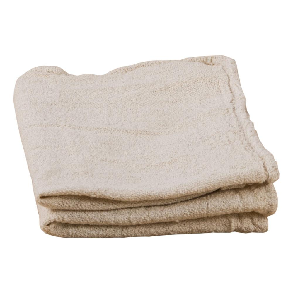 "14"" X 14"" Natural Shop Towels"