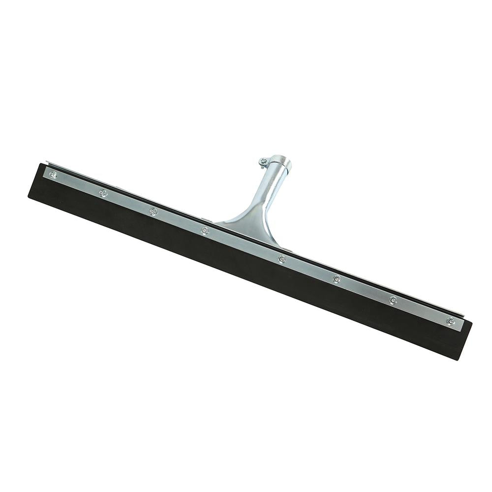 "18"" Straight Squeegee Black Rubber"