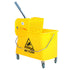 21 Qt Sidepress Bucket and Wringer Yellow