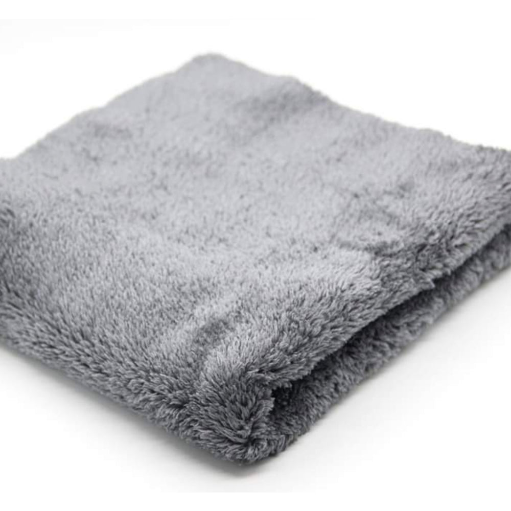 "24"" x 24"" Plush Microfiber Cloth - Grey"