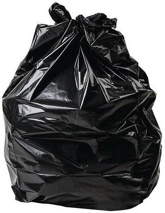 "35"" x 47"" Black Garbage Bags"