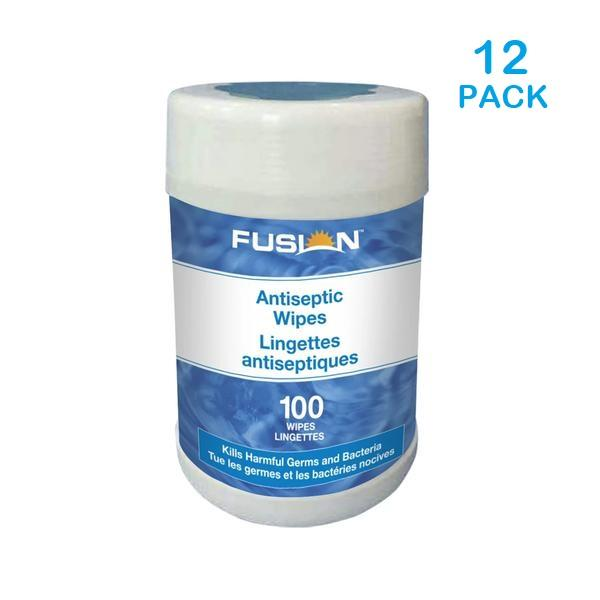 75% Alcohol Tube wipes - 100/Tube - 12/CASE