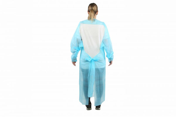 PP Disposable Isolation Gowns - 100 per case