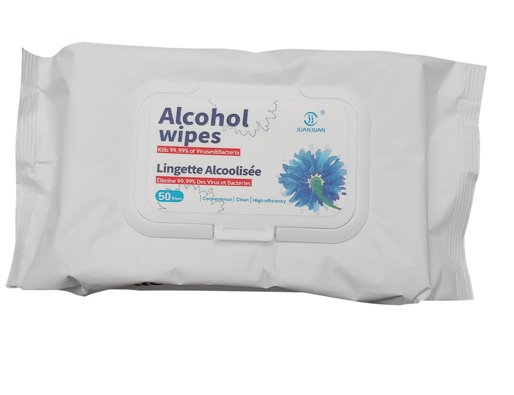 Alcohol wipes - 50/pack