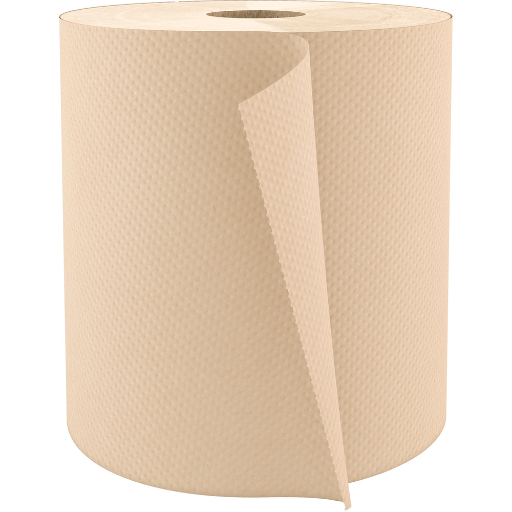 Cascades PRO Select Roll Paper Towels, 1-Ply, 7.9-Inch x 800 ft, Natural, 6/Case