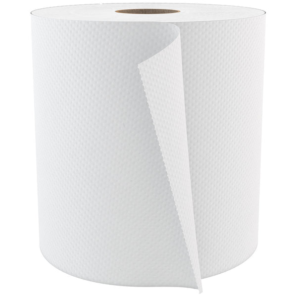 Cascades PRO Select Roll Paper Towels, 1-Ply, 7.9-Inch x 800 ft, White, 6/Case