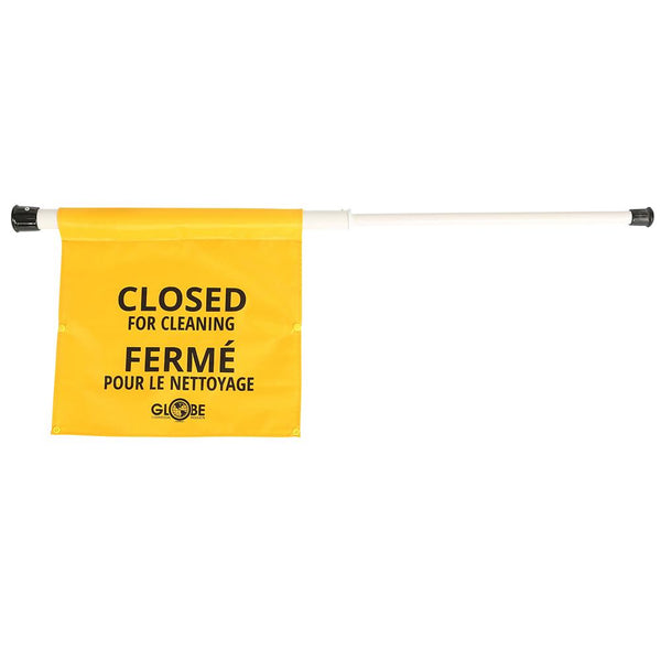 Closed for Cleaning Sign - English/French