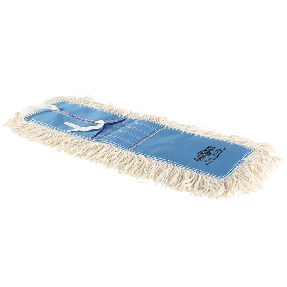 "Cotton Dust Mop 24"" x 5"" Tie-On"