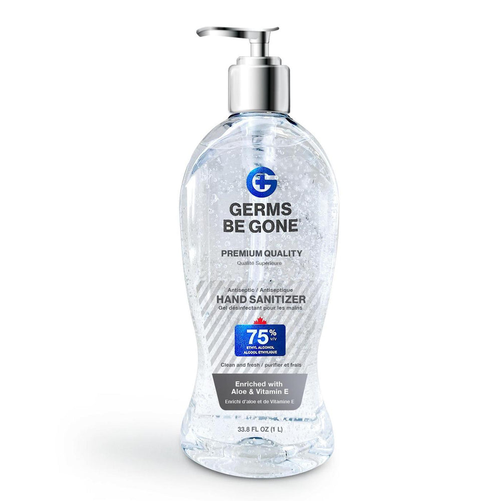 Germs be Gone! - With Hand Pump - 1 Litre Hand Sanitizer