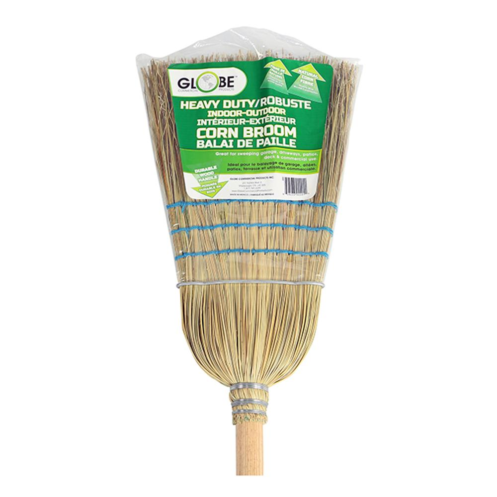 Industrial Corn Broom 1 wire 3 string