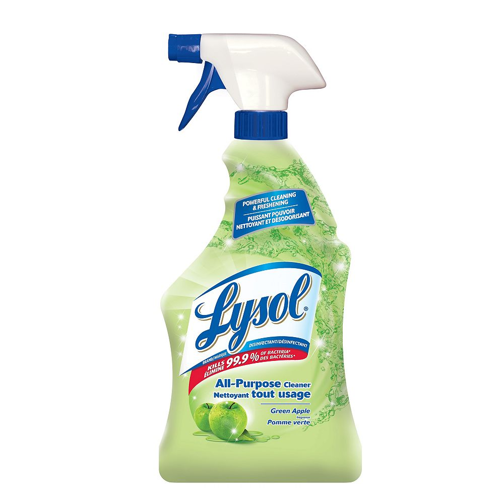 Lysol All Purpose Cleaner - Green Apple - 650 ml