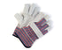 Split Leather Gloves Fitted Gloves with Reinforcement - 12 pairs
