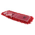 "Pro-Stat Dust mop head 24"" x 5"" Red Tie-On"