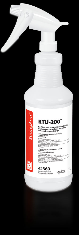 RTU-200 - Food Contact Surface Cleaner - No Rinse