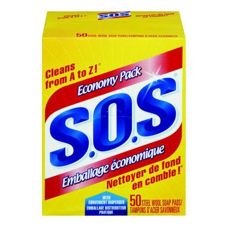 SOS Soap Pads - 50 box