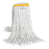 Synthetic Wet mop Narrow Band 24oz Cut End White