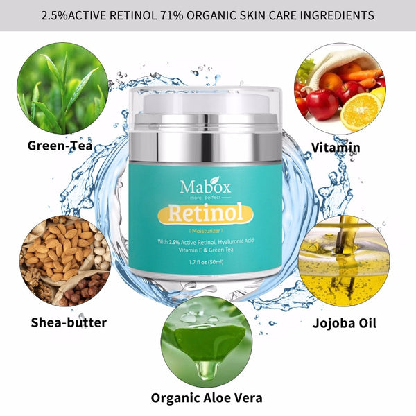 Anti Aging Retinol Moisturizer Face Cream - Beautiful Fabulina