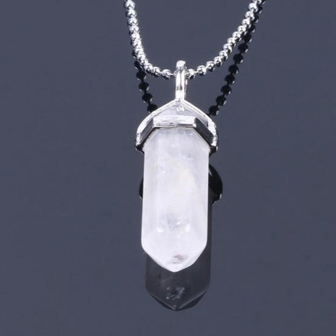 Healing stone Pendant with FREE Necklaces - Beautiful Fabulina
