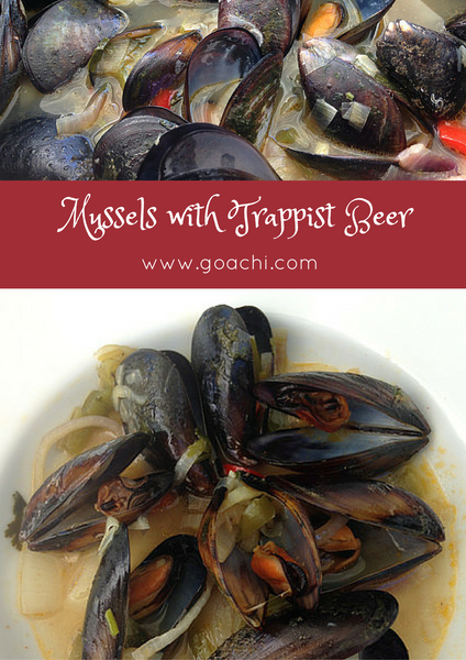 Mussels with Trappist beer recipe