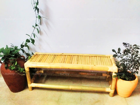 Zen Bamboo Bench (Bangalore Only)