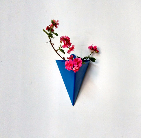 Triangular Wall Planter