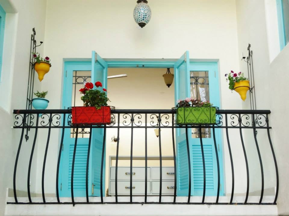 Mediterranean Balcony Garden with Flowering Plants (Bangalore Only)