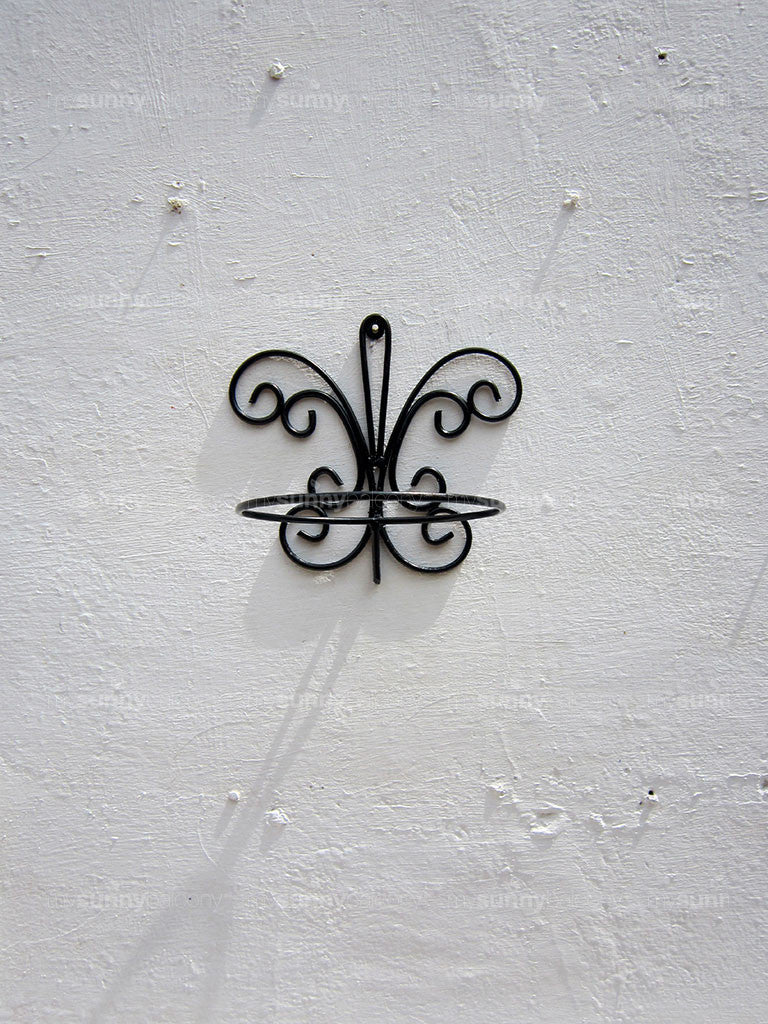 Wrought Iron Wall bracket - Butterfly