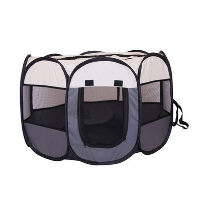 Portable Folding Pet Big Tent Dog House - Bluhawke