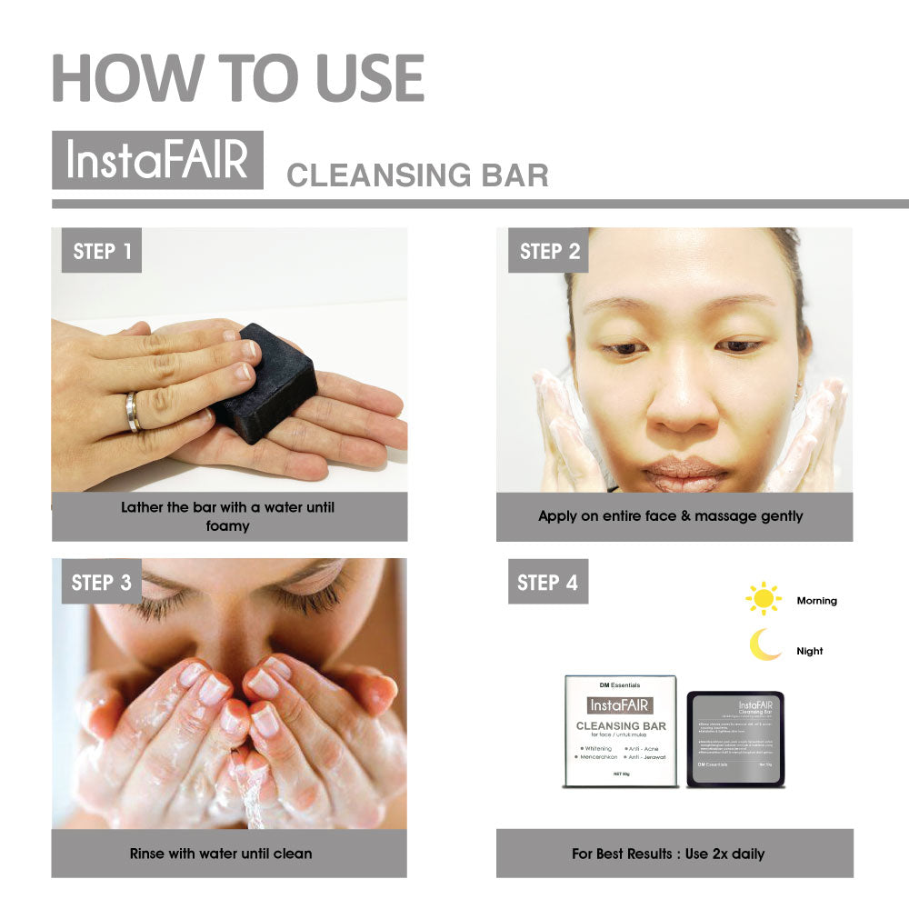 InstaFAIR CLEANSING BAR (50g)