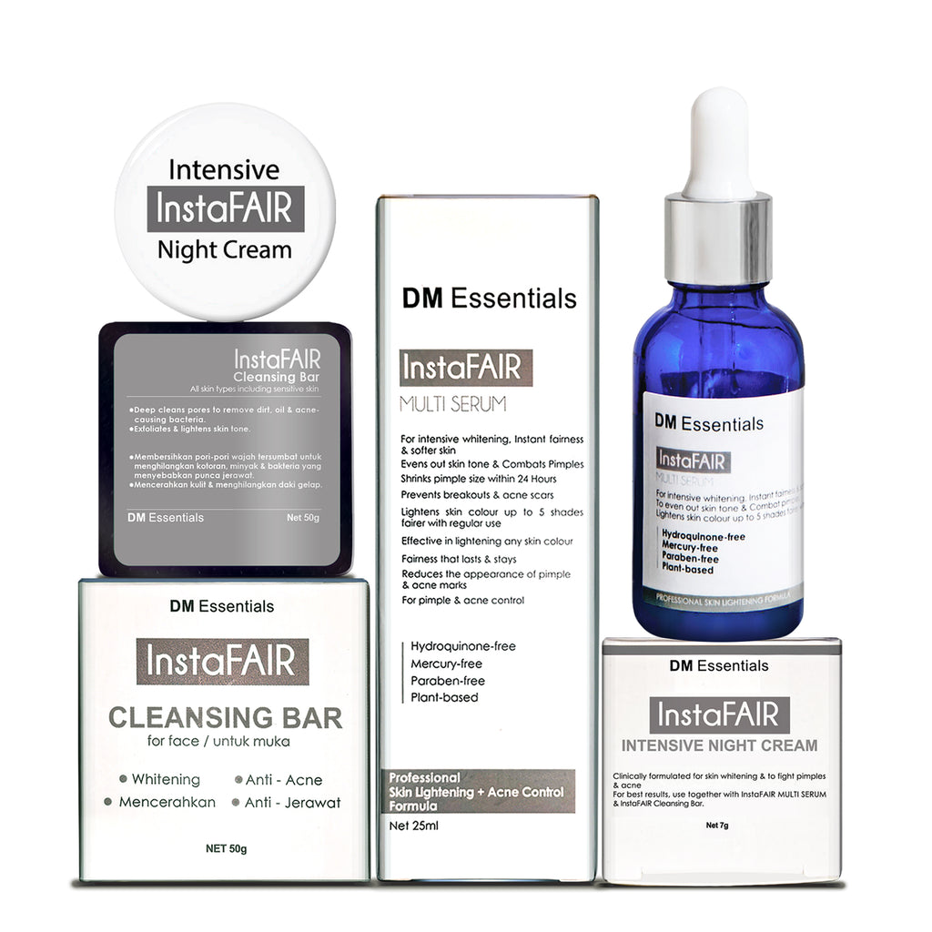 COMBO SR2 - InstaFAIR FULL SET + Insta-C SCAR REDUCTION CONCENTRATE SERUM