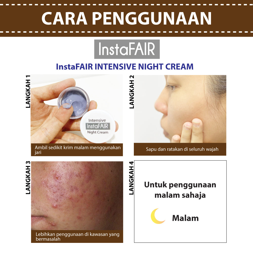 InstaFAIR INTENSIVE NIGHT CREAM (7g)