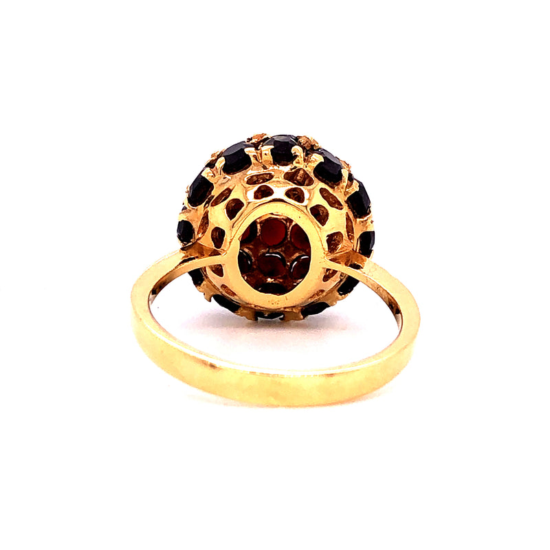 Ring Granat Gold 18k