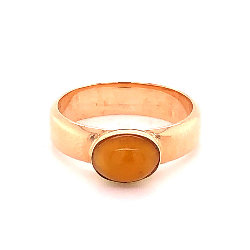Ring Bernstein Gold 14k