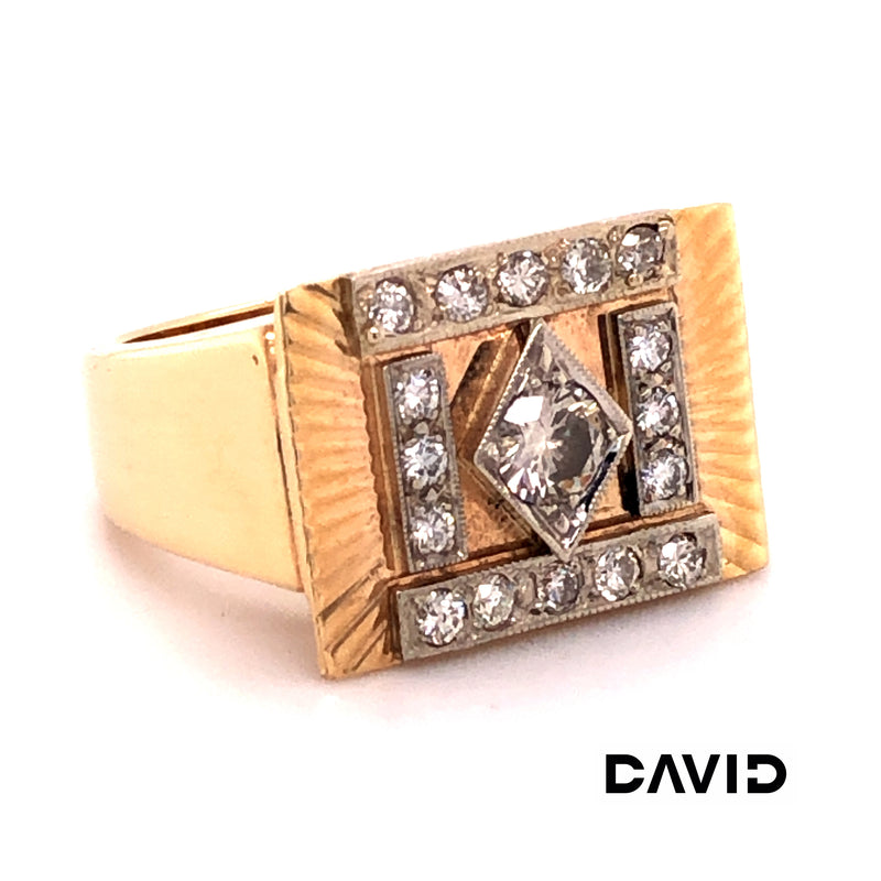 Ring Brillanten Gold 14k
