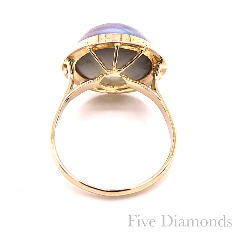Ring Marbe Gold 14k