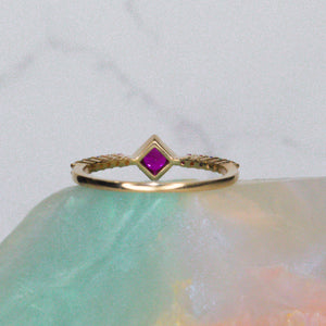 Princess Rainbow Ring 🌈