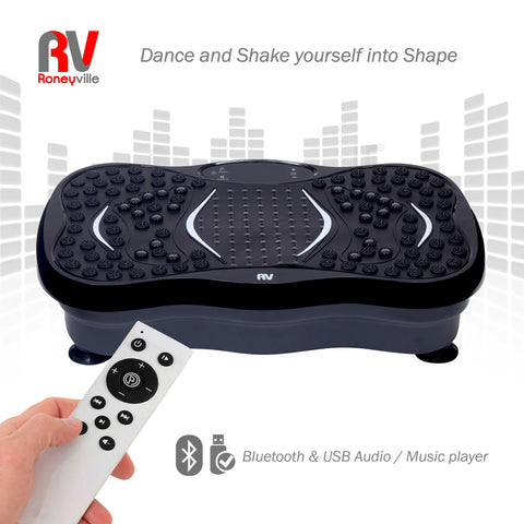 8-in-1 Vibration Plate Bluetooth usb AUDIO music PLAYER