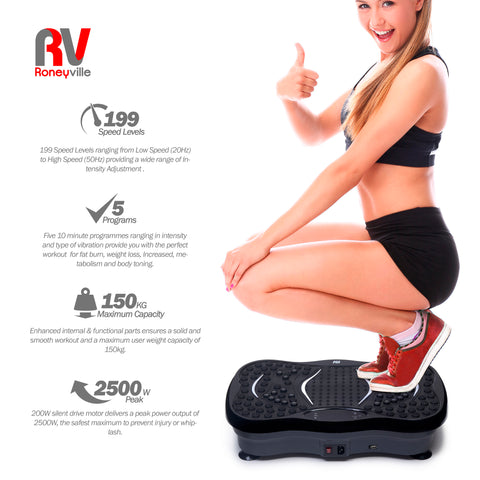 8-in-1 Vibration Plate FAT CRUCNCHING
