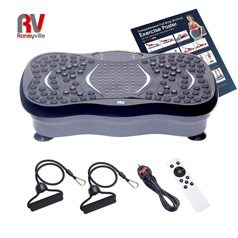 roneyville 8-in-1 vibration plate toning circulation machine