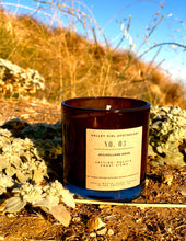 Load image into Gallery viewer, No. 3 Mulholland Drive, CA Scented Candle - Hand-Poured Coastal Breeze and Mountain Blooms