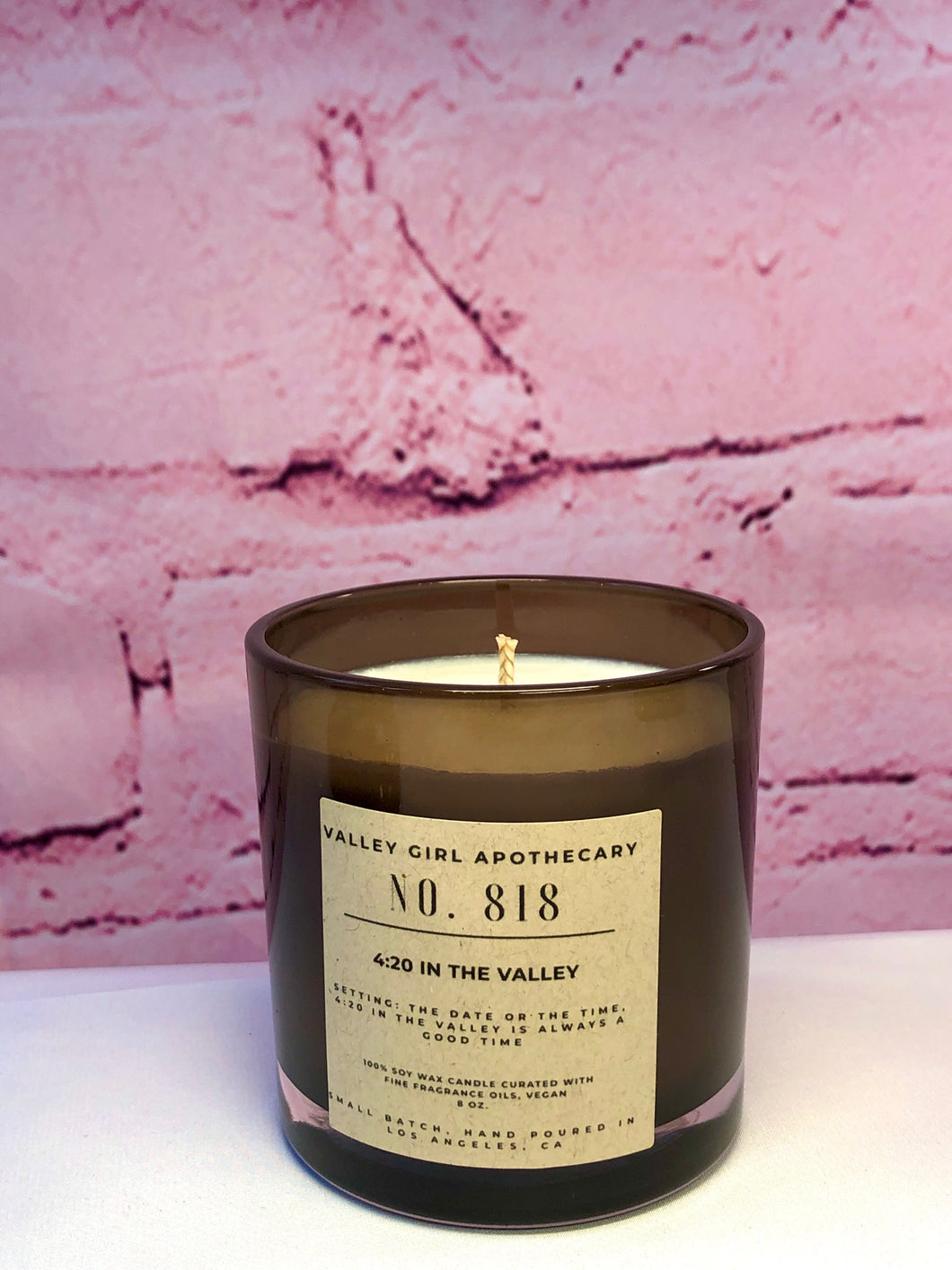 No. 818 - 4:20 in the Valley - Hemp & Cannabis Scented Soy Candle
